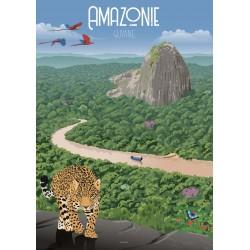 Affiche Amazonie 50x70