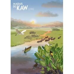 Affiche Marais de Kaw 50x70