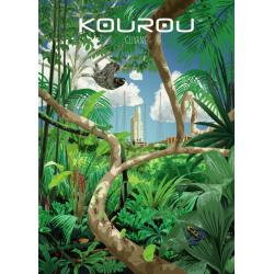 Affiche Kourou 50x70