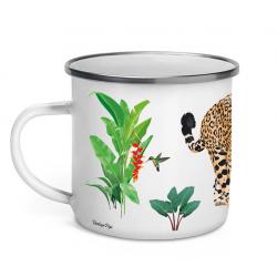 Mug émaillé Jaguar